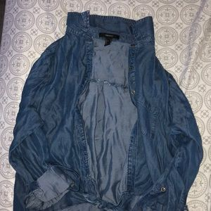 Forever21 Bluejean Button up